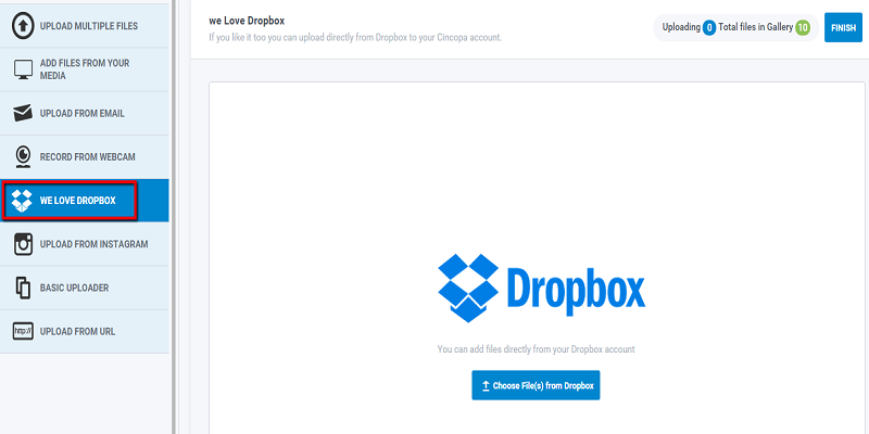 Download From Dropbox | Cincopa