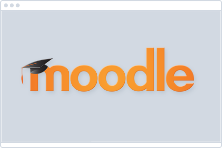 Fully compatible with Moodle