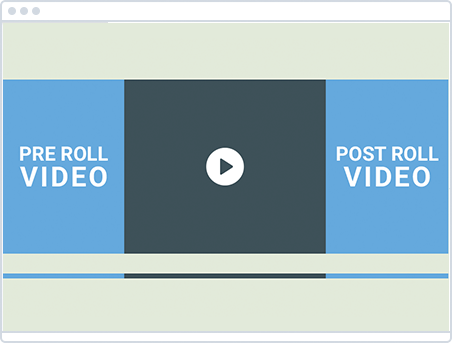 Pre/Post Roll Video Ads