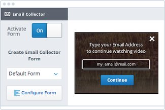 Email collection gallery