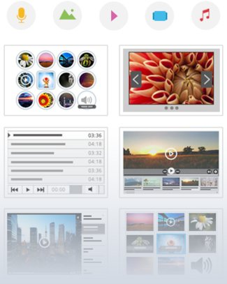The biggest media template collection on the web