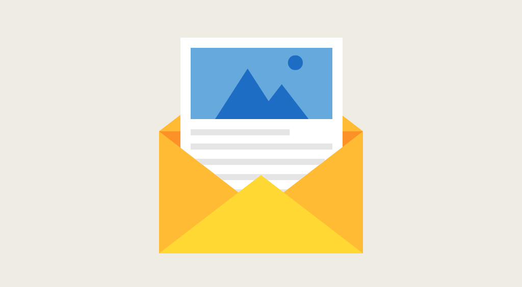 Visualize email message