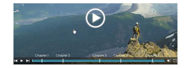 Add Chapters to your Cincopa Videos