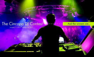 Cincopa DJ Contest:  And the Winners Are…