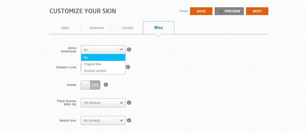 customize your skin