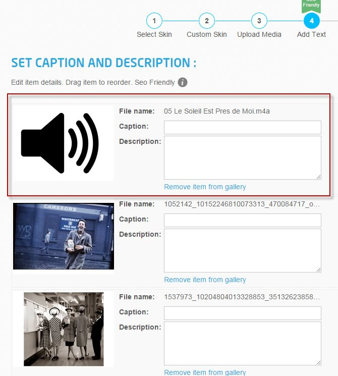 Create Slideshow with Music Using Cincopa | The Blog