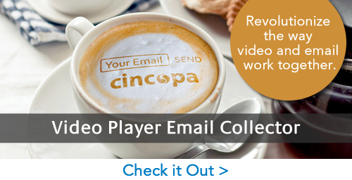 Video Player Email Collector
