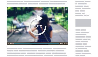 Cincopa's Facebook mode video player