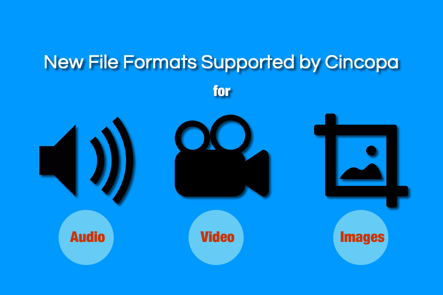 New File Formats Now Supported by Cincopa