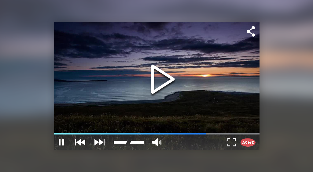 A look at our HTML5 Video Player – Cincopa | The Blog