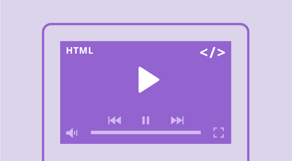 HTML5 Video player and Email collector