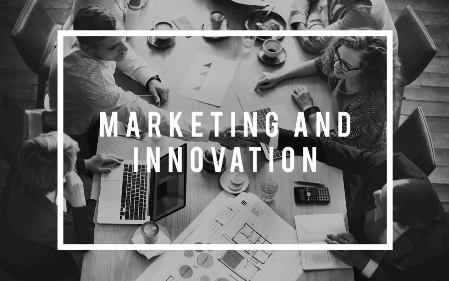 Marketing Innovation Digital Technology Invention Concept
