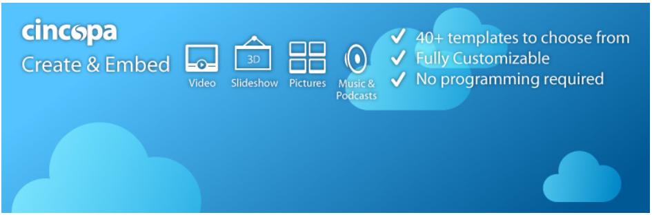 Cincopa's wordpress HTML Slideshow