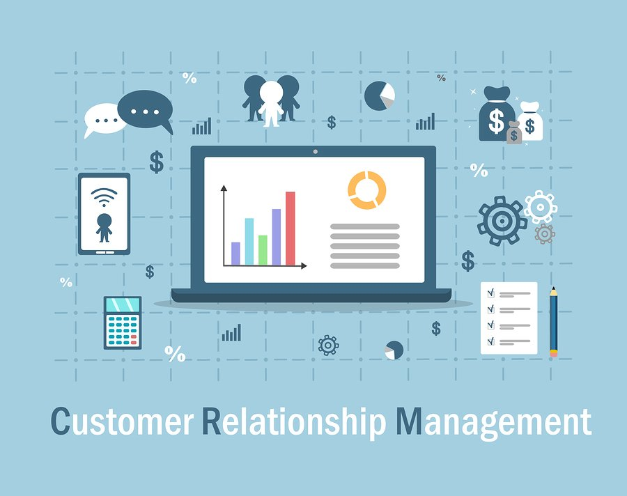 Customer Relationship Management Illustration