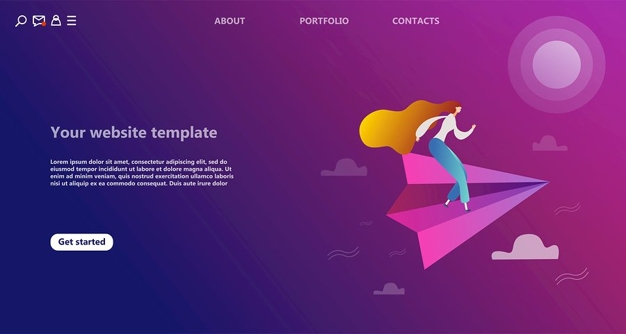 Add a beautiful landing page to increase sales