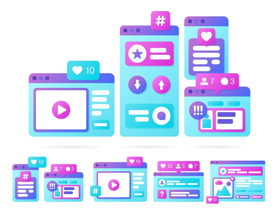 Make sure to optimize your video media size for each social media platform