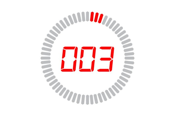 3 seconds icon