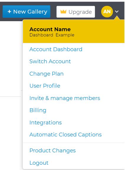 cincopa account name